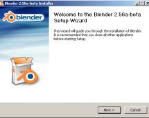 On the Blender Installer for Windows