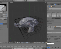 Sculpting on deformed mesh
