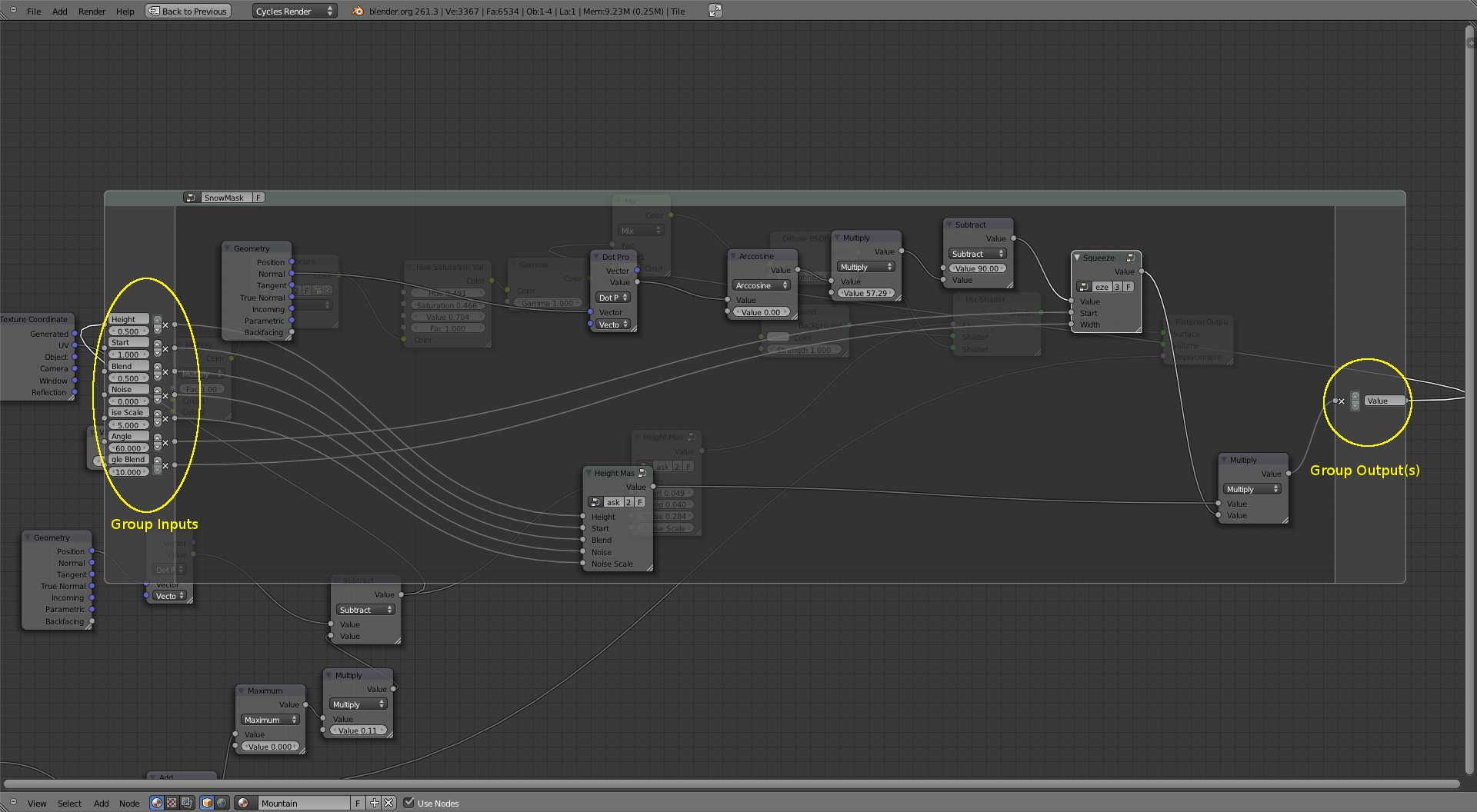 Improving node group interface editing — Blender Developers Blog