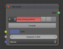 Open Shading Language in Cycles