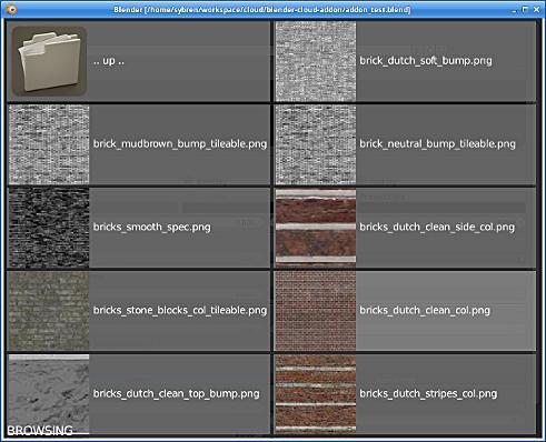 Blender Addon: textures
