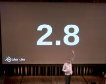 Blender 2.8 project status