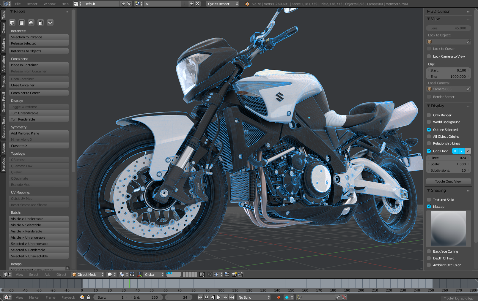 Eevee Roadmap Blender Developers Blog To Start Engine On Stand Wiring 28 Viewport Design Mockup By Pawe Yczkowski Suggesting Fresnel Wires Over A Cycles Preview