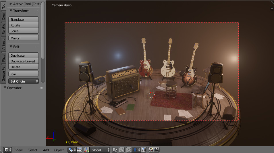 Guitar stage by Davide Tirindelli