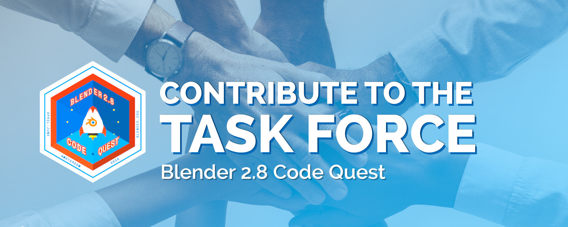 Blender 2.8 Task Force