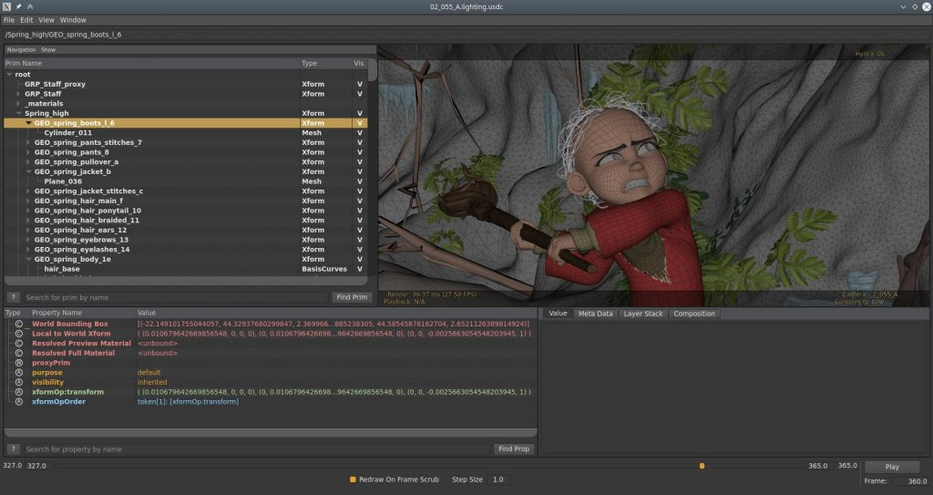 First steps with Universal Scene Description — Blender Developers Blog