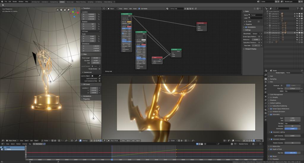 EMMYS 2018 Motion Graphics in Blender