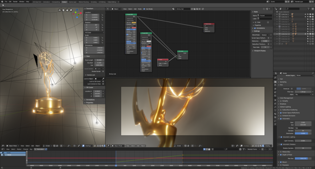 EMMYS 2018 Motion Graphics in Blender