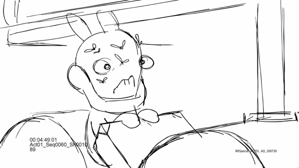 Drawing from the Storyboard step