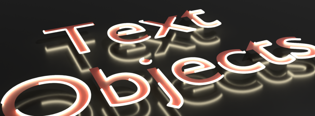 The curve  trim and fill nodes used on curve splines from text characters